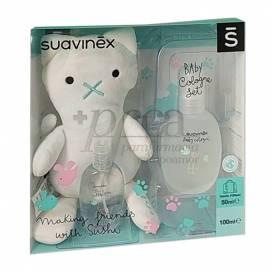 SUAVINEX BABY COLOGNE 100 ML + 50 ML + TEDDY PROMO