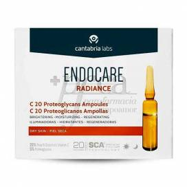 ENDOCARE RADIANCE C20 PROTEOGLICANOS 2 ML 10 AMPOULES