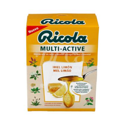 RICOLA MULTI-ACTIVE MIEL LIMON 51 G