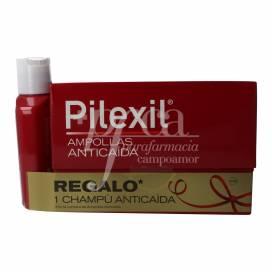 PILEXIL ANTI-HAARAUSFALL 15 AMPULLEN + SHAMPOO 100 ML PROMO