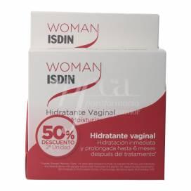 ISDIN WOMAN HIDRATANTE VAGINAL 6 ML 12 APLICADORES 2 UNIDADES PROMO