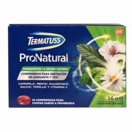TERMATUSS PRONATURAL 16 TABLETTEN