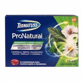 TERMATUSS PRONATURAL 16 TABLETTEN