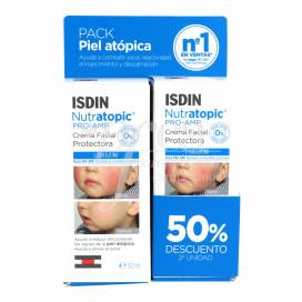 ISDIN NUTRATOPIC PRO-AMP FACE CREAM 50 ML + 50 ML PROMO