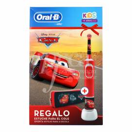 ORAL-B KIDS CARS ELECTRONIC TOOTHBURSH + GIFT PROMO
