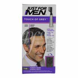 JUST FOR MEN TOUCH OF GREY SCHWARZ T-55