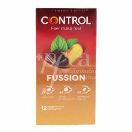 CONTROL CONDOMS FUSSION FLAVOUR 12 UNITS