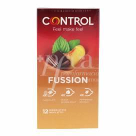 CONTROL PRESERVATIVOS SEX FUSSION 12 UDS