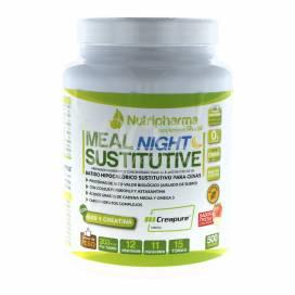 MEAL NIGHT SUSTITUTIVE 500 G SABOR FRESAS CON NATA
