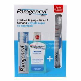 PAROGENCYL CONTROL TOOTHPASTE 125 ML + MOUTHWASH 500 ML + TOOTHBRUSH PROMO