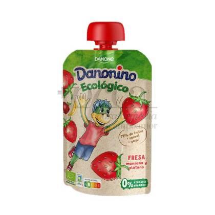 DANONINO ECO POUCH FRESA 90 G