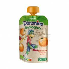 DANONINO ECO POUCH ORANGEN 90 G