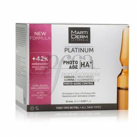 MARTIDERM PHOTO-AGE 30 AMPOULES OF 2ML