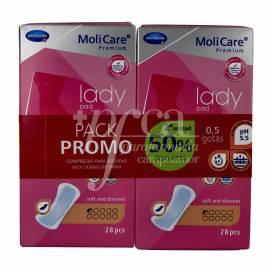 MOLICARE PREMIUM LADY PAD 0.5 TROPFEN 56 EINHEITEN PROMO