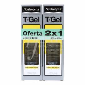 NEUTROGENA T-GEL SHAMPOO FOR NORMAL TO DRY HAIR 2X250 ML PROMO