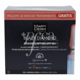 MARTIDERM BLACK DIAMOND EPIGENCE OPTIMA SPF50+ 30 + 5 AMPULLEN PROMO