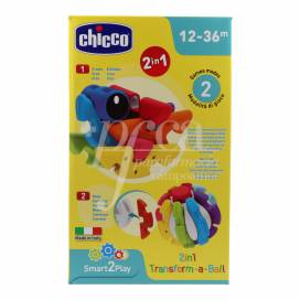 CHICCO TRANSFORM-A-BALL 2EM1 12-36M
