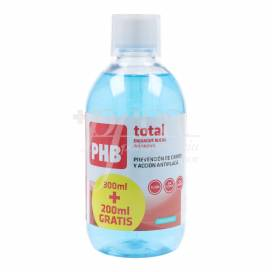 PHB TOTAL ENJUAGUE BUCAL 300 ML + 200 ML PROMO