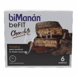 BIMANAN PRO BARS CHOCOLATE 6 BARS