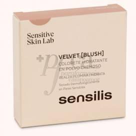 SENSILIS VELVET BLUSH COLOR 01 PRUNE 10 G
