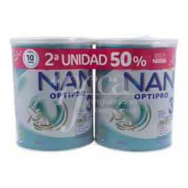 NAN OPTIPRO 3 2X800 G PROMO