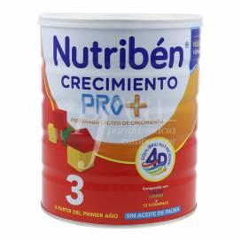 NUTRIBEN 3 LECHE DE CRECIMIENTO PRO+ 800 G