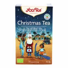 YOGI TEA CHRISTMAS TEA HONEYBUSH, CINNAMON AND STAR ANISE