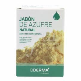 DDERMA SABONETE DE ENXOFRE NATURAL 100 G