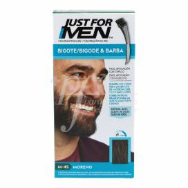 JUST FOR MEN BIGOTE E BARBA MORENO M-45