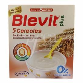 BLEVIT PLUS 5 CEREAIS 600 G