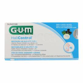 GUM HALICONTROL 10 TABLETS