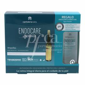 ENDOCARE TENSAGE 20 AMPOULES + GIFT PROMO