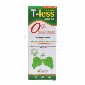 T-LESS SYRUP 120 ML