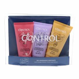CONTROL MASSAGE GEL 3X50 ML