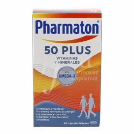PHARMATON 50 PLUS 60 CAPSULES