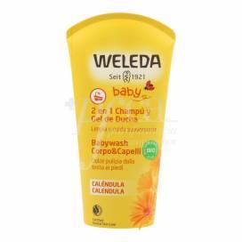 WELEDA BABY SHAMPOO UND DUSCHGEL 200 ML