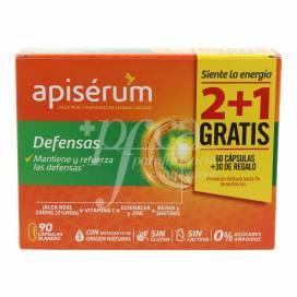 APISERUM DEFENSAS 60 + 30 CAPSULES PROMO