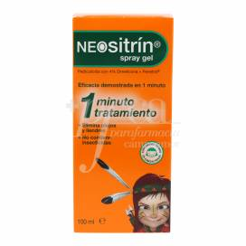 NEOSITRIN ANTI-LICE LIQUID GEL SPRAY 100 ML