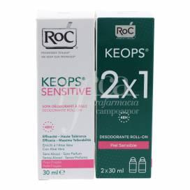 ROC KEOPS SENSITIVE DEODORANT 2X30 ML PROMO
