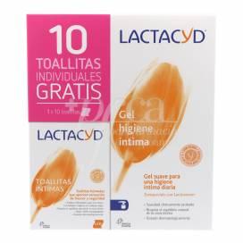 LACTACYD INTIM GEL 400ML + 10 TÜCHER