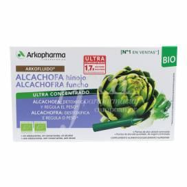 ARKOFLUIDO ALCACHOFRA FUCHO 10 AMPOLAS