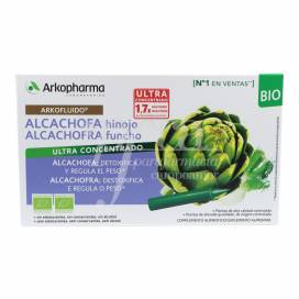 ARKOFLUIDO ARTICHOKE AND FENNEL 10 AMPOULES