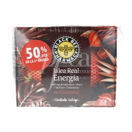 BLACK BEE JALEA GELÉE ROYALE ENERGY 2X20 AMPULLEN PROMO