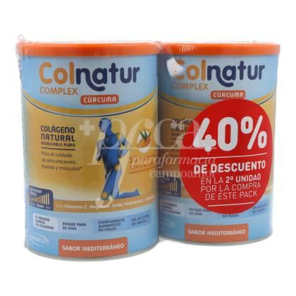 COLNATUR COMPLEX TURMERIC 2X250 G PROMO