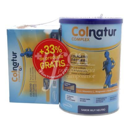 COLNATUR COMPLEX NEUTRAL 330G + COLNATUR COMPLEX GO 10 SACHETS PROMO