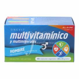 ONEVIT MULTIVITAMIN MAN 45 CAPSULES
