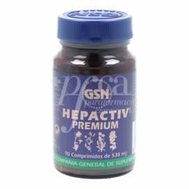 HEPACTIV 90 COMPRIMIDOS 400MG GSN