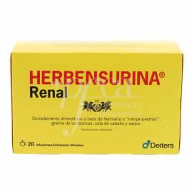 HERBENSURINA RENAL 20 SAQUETAS