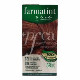 FARMATINT GEL 5R COPPER LIGHT BLONDE 135ML