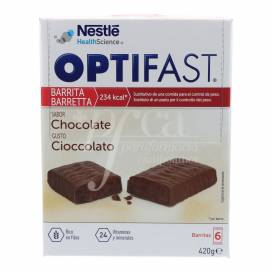OPTIFAST CHOCOLATE 6 BARRINHAS